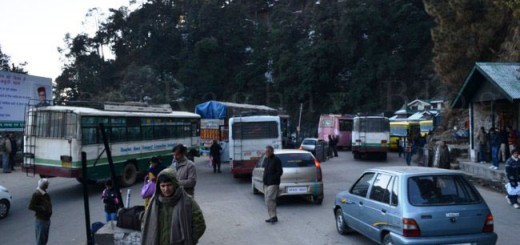 Worsening Traffic at New ISBT, Shimla