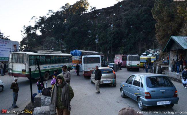 Worsening Traffic at New ISBT, Shimla