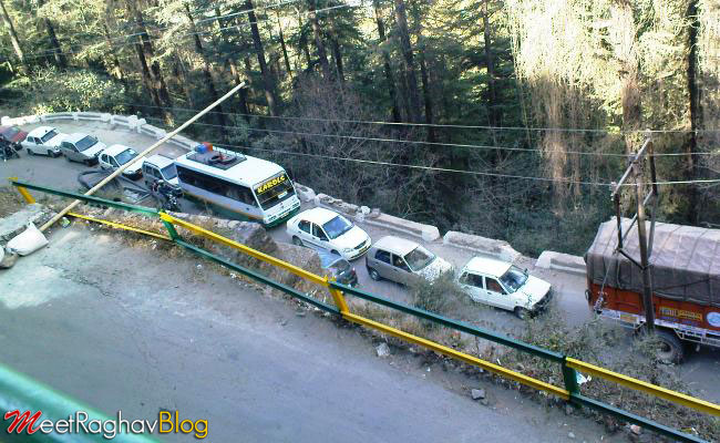 shimla-traffic-problems